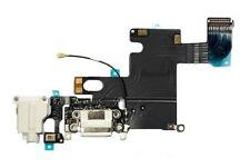 "iPhone 6 (4.7"") White Charging Unit Dock Port & Mic & Headphone Jack Flex Cable"