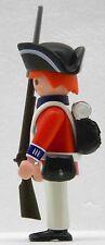 GARDE ROYAL SOLDAT Playmobil contre Continental Armée à Roi George 1778 Custom