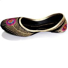 Women mojari jutti traditional Punjabi khussa shoes Indian flip flop US size 7.5
