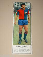 *+ CARLO PETRINI GENOA=FIGURINA=1966/67=ALBUM FIGURINE CALCIATORI TEMPO
