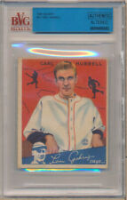 1934 Goudey #12 Carl Hubbell Authentic Altered   - BVG Vg (3)