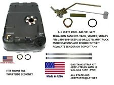 JEEP 1980-1984 Jeep® J10 & J20 Truck 18 gallon fuel tank with sender & strap kit