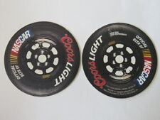 2013 Beer Coaster ~ COORS Light ~ Official Beer of NASCAR Stock Car Auto Racing