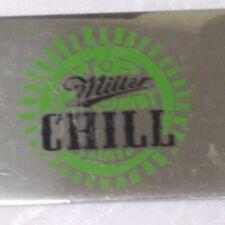 Miller Chill Beer Bottle Opener Chrome Advertising