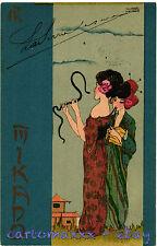 "Raphael Kirchner Postcard - ""Mikado"" - K033"