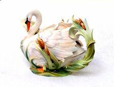 Franz Porcelain Swan Lake Teapot Splendor