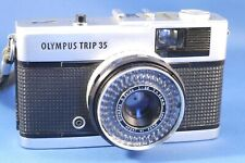 Classic Olympus Trip 35mm Camera. Tested Working.