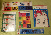 Teacher Classroom Supplies*Posters*Alphabet*Months*Grammar*Holiday*Dr Seuss