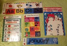 Teacher Classroom Supplies*Posters*Alphabet*Months*Grammar*Holiday*Dr Seuss