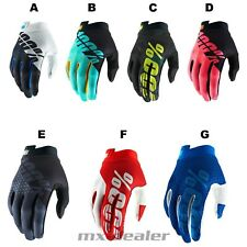 100% Prozent ITRACK 2019 Handschuhe MTB DH MX BMX Motocross Enduro Quad