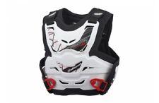Phantom MINI ESCUDO antipiedras Motocross Niños Protector Roost deflector blanco