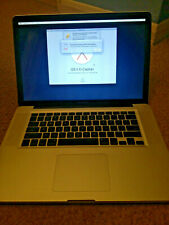 """APPLE MACBOOK PRO 2008 15"""" LAPTOP 500GB HDD FOR SPARES OR REPAIR."""