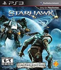 Starhawk -- Limited Edition (Sony PlayStation 3, 2012)