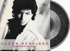 GLENN MEDEIROS - Long and lasting love CD SINGLE 3TR Cardsleeve 1988 MERCURY