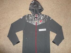 NWT Nike Sweatless Full Zip Jacket ARIZONA CARDINALS Sz S 597650 032 RETAIL $130