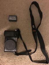 Sony Alpha A6000 24.3MP ILCE-6000 Digital Camera (Body Only) 25k Shots Taken