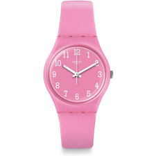 Swatch Pinkway Silicone Ladies Watch GP156