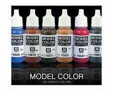 Vallejo Model Color Farben 17ml Einzeln wählbar Acryl Farben Hobby paints paint