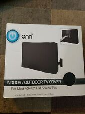 "Onn Indoor/outdoor Tv Cover Fit Most 40-43"" Flat Screen Tv's"
