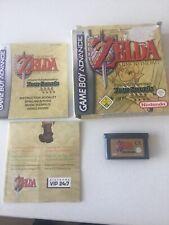Boxed Zelda Four Swords Nintendo Gba Gameboy Advance