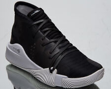 Under Armour Spawn Mid Men's UA Black Grey Basketball Sneakers Shoes