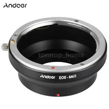 Lens Adapter Ring for Canon EOS EF EF-S to Olympus Panasonic Micro M4/3 MFT
