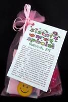 PERSONALISED SISTER NOVELTY GIFT SURVIVAL KIT BIRTHDAY PRESENT KEEKSAKE THANK U