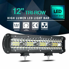 12 Inch 240W LED Light Bar Spot Flood Combo Off Road Driving Lamp Truck Car ATV