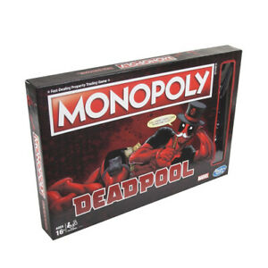 Monopoly - Deadpool Edition. Hasbro. Free Delivery