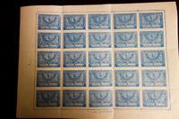Saudi Arabia Stamps # 162 VF OG NH Sheet of 25 Scarce & Fresh