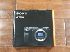 BRAND NEW Sony Alpha a6600 Mirrorless Digital Camera Body #ILCE6600/B