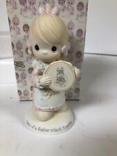 Precious Moments-Girl/Hoop/Bird- Limited -Birds Of A Feather Dove Mint In Box