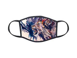 Masque de protection personnalisé Animal lion mask Réf 1301