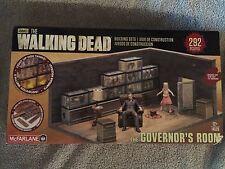 McFarlane The Walking Dead TV Governor's Room 292 Pc ~NEW DAMAGE BOX!