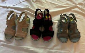 Bare Traps Women's Soozie sandals various colors/sz black, rose, gray NEW