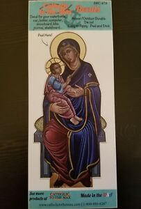 Car Decal Vinyl in Color Our Lady of Good Health