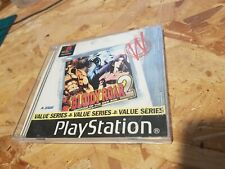 Playstation one Bloody Roar 2 (value series) White label series