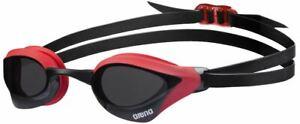 Arena Cobra Core Swimming Goggles - Smoke/Red