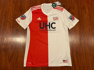 2017-18 Adidas Men's New England Revolution Soccer Jersey Auth Player Large L
