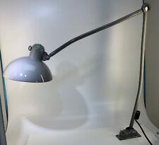 Vintage Kaiser IDELL Werkstatt Lampe 6726 Super grau, restauriert - 20316 –