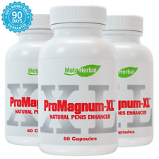 3X MALE PENIS ENLARGER GROWTH PILLS GET BIGGER GROW THICKER LONGER SIZE/GIRTH