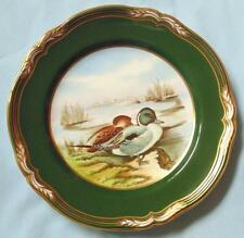 "SPODE 9"" HAND PAINTED PLATE PINTAIL DUCKS FROM GAME BIRDS SERIES"