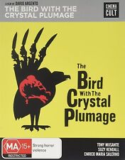 THE BIRD WITH THE CRYSTAL PLUMAGE  - Blu Ray - Sealed Region B  for UK