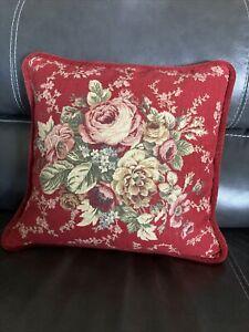 WAVERLY Garden Room Floral Throw Pillow