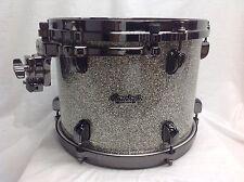 "Tama Starclassic Bubinga 12"" Diameter X 9"" Deep Mounted Tom/Platinum Sparkle/NEW"