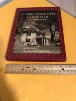 Vtg 1946 New England Weekly Calendar For Engagements Samuel Chamberlain RARE