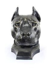 American Staffordshire terrier cropped, big head, Art Dog Limited Edition, Usa