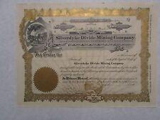 Silverdyke Divide Mining Company A Nevada Corporation