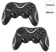 2x Bluetooth Wireless Controller Gamepad für PC und PlayStation PS3  by Tramani