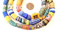 Autum Assortment Handmade Ghana Powder-Glass African Trade beads